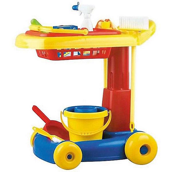 - Набор для уборки Hualian Toys Маленькая хозяйка, 10 предметов ролевые игры игруша игровой набор продукты 10 предметов