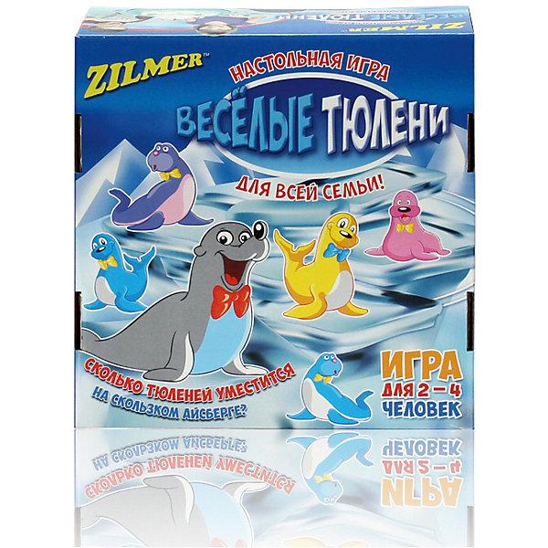 Zilmer Настольная игра Zilmer Веселые тюлени zilmer настольная игра zilmer помоги пингвиненку