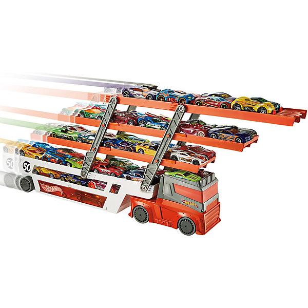 Mattel Hot Wheels® Мега-грузовик hot wheels dwk99 трансформирующиеся игровые наборы призрачный гараж