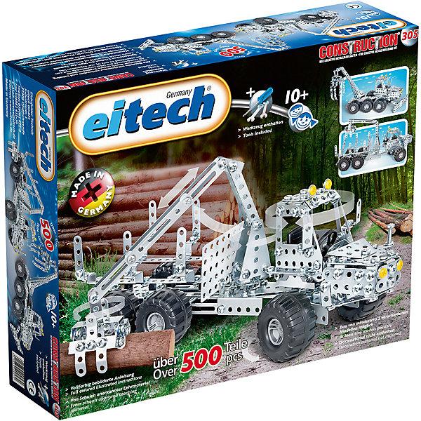 eitech Металлический конструктор Eitech Лесовоз, 500деталей