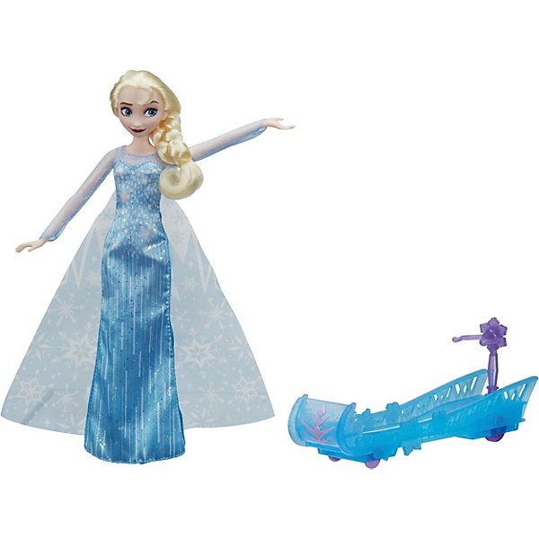 Hasbro Кукла Disney Princess Холодное сердце Эльза и ледяные санки, 28 см