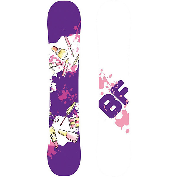 "BF snowboards Сноуборд BF snowboards ""Special Lady lipstick"", 142 см"