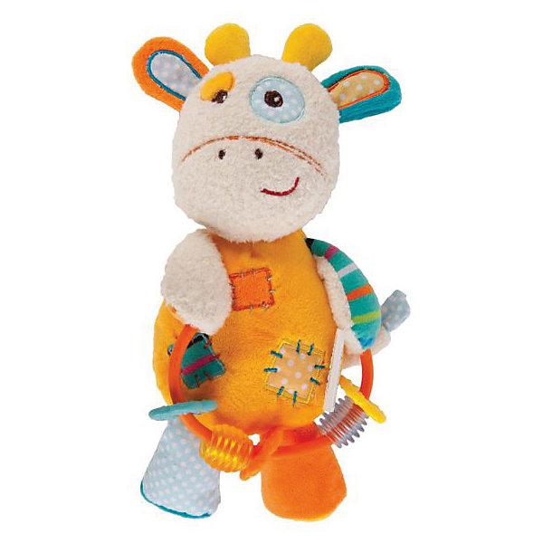 Жирафики Мягкая игрушка-погремушка Жирафики Жирафик Дэни жирафики подвеска погремушка лисенок с вибрацией