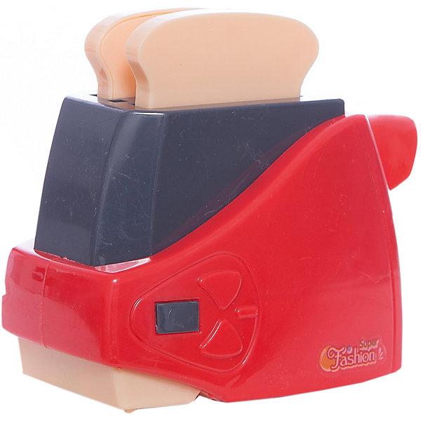 Тостер Shantou Gepai, свет звукИгрушечная бытовая техника<br>Характеристики:<br><br>• тип игрушки: тостер;<br>• возраст: от 3 лет;<br>• упаковка: пластик;<br>• размер: 17х8х15 см;<br>• вес:  219 гр;<br>• бренд: Shantou Gepai. <br><br>Тостер  станет хорошим подарком для маленькой хозяйки. Такая игрушка поможет девочке овладеть первым бытовыми навыками.  Игрушечная бытовая техника  из серии Super Fashion дополнит игрушечную кухню, где девочка сможет ощутить себя в роли настоящей хозяюшки. <br><br>В набор входят сам тостер и пара кусочков хлеба, которые всегда можно подогреть с хрустящей корочкой. Игрушка оснащена световыми и звуковыми эффектами, что делает ее очень похожей на настоящую бытовую технику.<br><br>Тостер  можно купить в нашем интернет-магазине.<br>Ширина мм: 150; Глубина мм: 80; Высота мм: 170; Вес г: 219; Возраст от месяцев: 36; Возраст до месяцев: 2147483647; Пол: Женский; Возраст: Детский; SKU: 7196507;