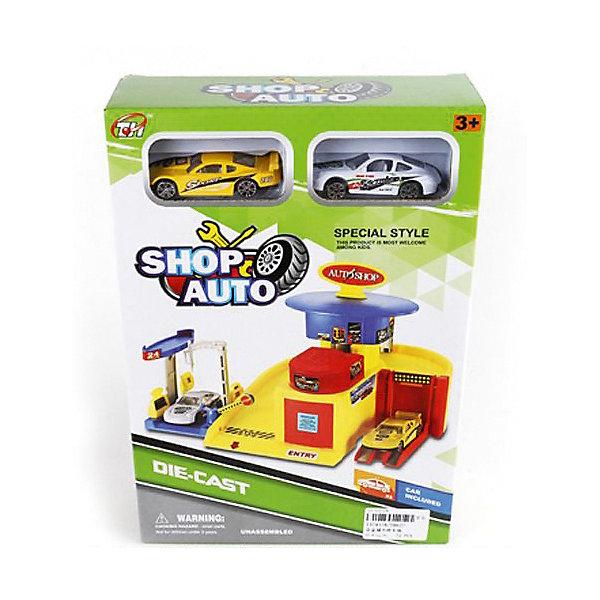 Shantou Gepai Автопарковка Shantou Gepai Автомобильный магазин + 2 машинки детские игрушки 7 км интернет магазин одесса недорого
