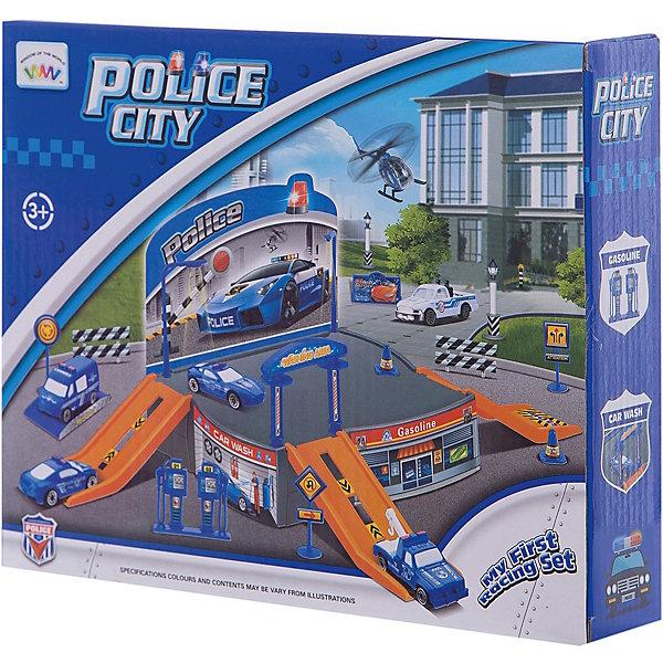 Парковка Shantou Gepai Полицейская станция + 2 машиныПарковки и гаражи<br>Характеристики:<br><br>• тип игрушки: паркинг;<br>• возраст: от 3 лет;<br>• упаковка: пластик;<br>• размер: 25х5,5х21 см;<br>• вес: 283 гр;<br>• бренд: Shantou Gepai. <br><br>Паркинг «Полицейская станция», 2 машины понравится любителем машинок и гонок. С данным набором ребенок сможет собрать игрушечную полицейскую станцию, на которой можно парковать машинки специальных служб. К пластмассовому паркингу прилагаются 2 машинки, что обязательно понравится ребенку. <br><br>С собранной полицейской станцией можно придумать множество разных игр. Например, ребенок сможет устроить штаб-квартиру или стоянку для оштрафованных машин. Ребенок придет в восторг от такого набора. Игрушка отлично подходит в виде подарка для детей от трех лет и старше.<br><br>Паркинг «Полицейская станция», 2 машины можно купить в нашем интернет-магазине.<br>Ширина мм: 250; Глубина мм: 55; Высота мм: 210; Вес г: 283; Возраст от месяцев: 36; Возраст до месяцев: 2147483647; Пол: Мужской; Возраст: Детский; SKU: 7196573;