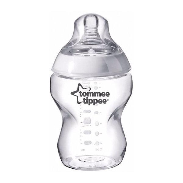 Tommee Tippee Бутылочка для кормления Tommee Tippee Closer To Nature с антиколиковым клапаном, 260 мл бутылочки пома для кормления с ручками 250 мл