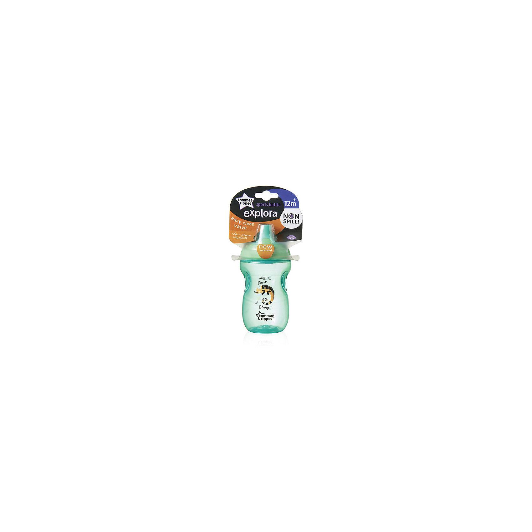 Бутылочка для кормления Tommee Tippee Explora Sports 360 мл, зеленая