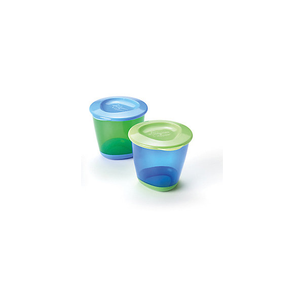 Tommee Tippee Контейнеры для хранения питания Tommee Tippee Explora 2 шт, голубые пустышки tommee tippee набор силиконовых пустышек tommee tippee весёлые животные с рождения 2 шт голубые