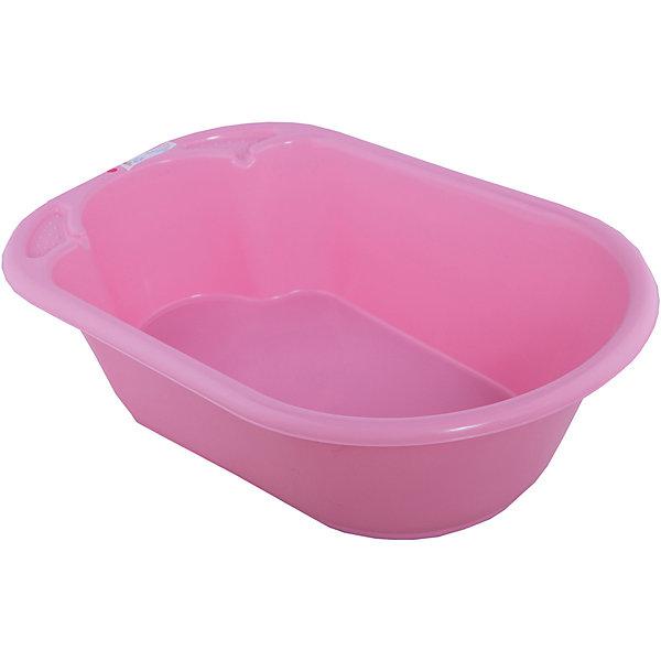Little Angel Детская ванночка Дельфин (розовая)