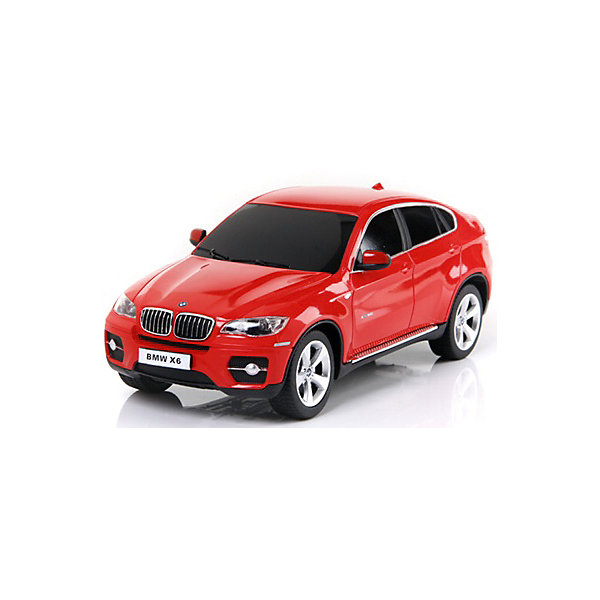 Радиоуправляемая машина Rastar BMW X6, 1:24 (красная)Радиоуправляемые машины<br>Характеристики:<br><br>• радиоуправляемая машинка на пульте управления;<br>• частота 27MHz;<br>• радиус действия пульта: 15-45 м;<br>• время непрерывной работы: 45 минут;<br>• независимая система подвески;<br>• движение вперед-назад, повороты вправо-влево;<br>• во время движения светятся фары;<br>• скорость движения: 12 км/ч;<br>• масштаб: 1:24;<br>• тип батареек: 3 шт. типа АА (автомобиль) + 1 шт. типа крона 9V (пульт управления);<br>• батарейки приобретаются отдельно;<br>• материал: металл, пластик, резина;<br>• длина машинки: 20 см;<br>• размер упаковки: 29х12х14 см; <br>• вес в упаковке: 440 г.<br><br>Радиоуправляемая машинка Rastar разгоняется до скорости 12 км/ч, может ехать влево, вправо, вперед и назад. Пульт управления позволяет задать желаемое направление движения. Радиус действия пульта составляет 15-45 м. Во время езды фары светятся, а при торможении и движении назад работают стоп-сигналы. В процессе игры с автомобилем Инфинити развивается координация движений, реакция, маневренность.<br><br>Машину р/у Rastar BMW X6 1:24 со светом, цвет красный можно купить в нашем интернет-магазине.<br>Ширина мм: 120; Глубина мм: 140; Высота мм: 290; Вес г: 440; Возраст от месяцев: 72; Возраст до месяцев: 144; Пол: Мужской; Возраст: Детский; SKU: 7196997;