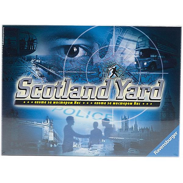 Настольная игра Ravensburger Скотланд ярдНастольные игры ходилки<br>Культовая игра была признана Игрой года в 1983 году. На игровом поле Скотлэнд Ярда изображена стилизованная карта Лондона с проложенными по ней транспортными маршрутами. <br><br>Количество игроков: 3 – 6 <br>Продолжительность игры: 45мин<br>Развивает стратегию, общение<br><br>Размер коробки: 37 x 27 x 6 см<br>Ширина мм: 370; Глубина мм: 60; Высота мм: 270; Вес г: 1336; Возраст от месяцев: 48; Возраст до месяцев: 2147483647; Пол: Унисекс; Возраст: Детский; SKU: 7198178;