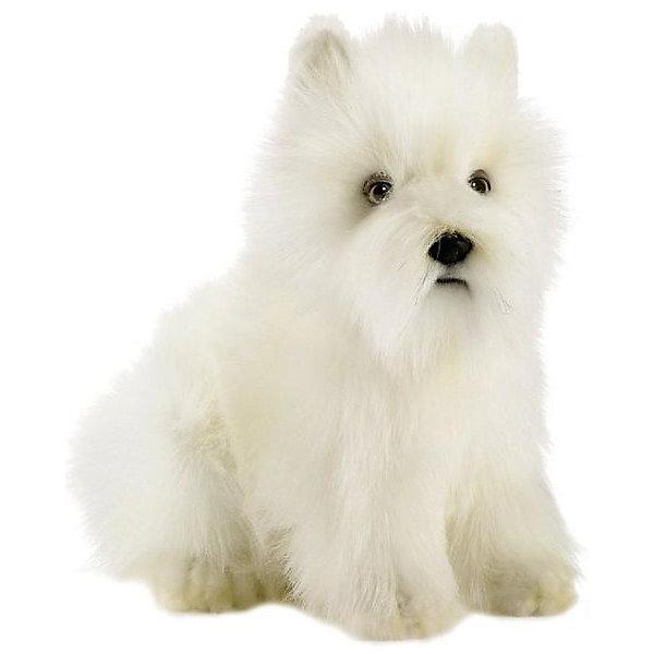 Hansa Мягкая игрушка Hansa Вест хайленд уайт терьер, 23 см мягкая игрушка собака hansa скотч терьер 31 см черный искусственный мех 4128
