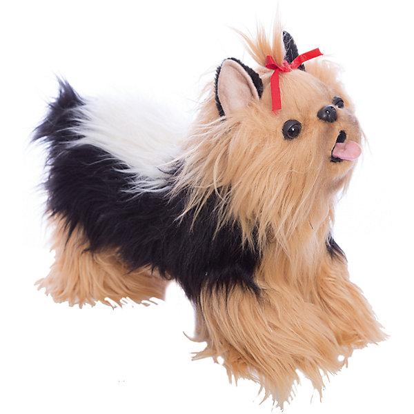 Hansa Мягкая игрушка Hansa Йоркширский терьер, 35 см мягкая игрушка собака hansa скотч терьер 31 см черный искусственный мех 4128