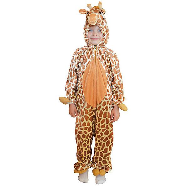 Карнавальный костюм Winter Wings Жираф (комбинезон)Карнавальные костюмы для девочек<br>Характеристики товара:<br><br>• возраст: от 3 лет;<br>• упаковка: пакет с европодвесом;<br>• модель - жираф;<br>• цвет - оранжевый;<br>• размер - 5-7 лет;<br>• состав - полиэстер;<br>• бренд, страна бренда: Winter Wings (Винтер Вингс), Канада;<br>• страна-производитель: Китай.<br><br>Карнавальный костюм  «Жираф» от торговой марки Winter Wings поможет сделать любой праздник веселым и незабываемым, оригинально дополнит любую творческую детскую сценку и несомненно порадует вас и вашего малыша.<br><br>Этот карнавальный костюм очень качественно сшит и выполнен в виде комбинезона оранжевого цвета, приятного на ощупь.<br><br>Компания  Winter Wings  - настоящий эксперт в оригинальных качественных новогодних украшениях, один из самых широких новогодних ассортиментов на российском рынке.<br><br>Карнавальный костюм  «Жираф», комбинезон,  Winter Wings  можно купить в нашем интернет-магазине.<br>Ширина мм: 400; Глубина мм: 500; Высота мм: 80; Вес г: 667; Возраст от месяцев: 60; Возраст до месяцев: 84; Пол: Унисекс; Возраст: Детский; SKU: 7220644;