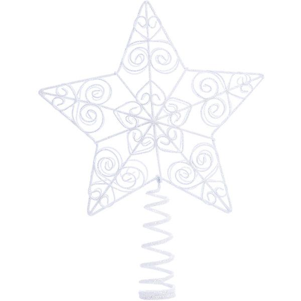 Верхушка на елку Winter Wings Звезда, 25 смЁлочные игрушки<br>Характеристики товара:<br><br>• возраст: от 3 лет;<br>• упаковка: подарочная коробка;<br>• вес: 200 гр.;<br>• количество: 1 шт.;<br>• цвет: серебристый;<br>• высота: 25 см.;<br>• форма: звезда;<br>• материал: пластик;<br>• бренд, страна бренда: Winter Wings (Винтер Вингс), Канада;<br>• страна-производитель: Китай.<br><br>Наконечник «Звезда» от торговой марки Winter Wings - елочное украшение, без которого нен может обойтись ни одна зеленая красавица. Украшение выполненно из качественного платика и с помощью специальной насадки одевается на праздничную новогоднюю елку.<br><br>Наконечник «Звезда» серебристого цвета, упакован в прозрачную коробку, отлично подойдет в качестве хорошего новогоднего сувенира родным и близким.<br><br>Елочная игрушка - символ Нового года и Рождества. Она несет в себе волшебство и красоту праздника. Создайте в своем доме атмосферу веселья и радости, украшая новогоднюю елку нарядными игрушками, которые будут из года в год накапливать теплоту воспоминаний. <br><br>Компания  Winter Wings  - настоящий эксперт в оригинальных качественных новогодних украшениях, один из самых широких новогодних ассортиментов на российском рынке.<br><br>Наконечник «Звезда», 1 шт, высота 25 см., Winter Wings  можно купить в нашем интернет-магазине.<br>Ширина мм: 250; Глубина мм: 100; Высота мм: 30; Вес г: 50; Возраст от месяцев: 36; Возраст до месяцев: 2147483647; Пол: Унисекс; Возраст: Детский; SKU: 7220686;