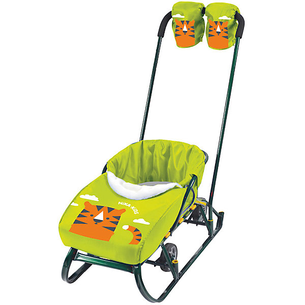 Nika-Kids Набор аксессуаров для санок Тигр лимонный