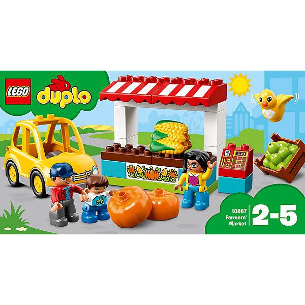 LEGO Конструктор LEGO DUPLO 10867: Фермерский рынок