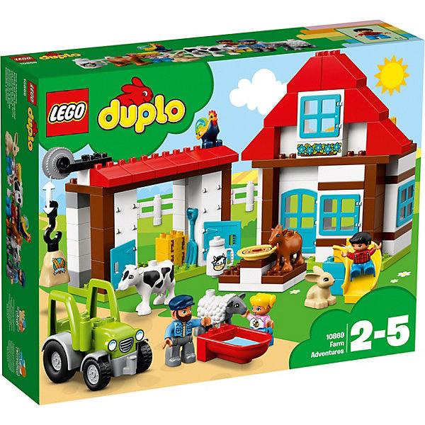 LEGO Конструктор LEGO DUPLO 10869: День на ферме