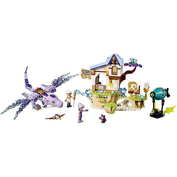 Конструктор LEGO Elves 41193: Эйра и дракон Песня ветраLEGO Elves<br>Характеристики товара:<br><br>• возраст: от 8 лет;<br>• серия LEGO: Elves;<br>• материал: пластик;<br>• количество деталей: 451 шт.;<br>• количество минифигурок: 4;<br>• в наборе: дракон, дирижабль, музыкальная школа, плавающий остров, части лука, две стрелы, инструкция для сборки лука, вишня, арфа, лютня, ноты, дирижерская палочка, кровать, вишневый кекс, орган, сундук, алмаз;<br>• размер дракона: 7х21х25 см;<br>• размер школы: 15х10х5 см;<br>• размер упаковки: 26х28х5 см;<br>• вес упаковки: 546 гр.;<br>• страна бренда: Дания.<br><br>Конструктор LEGO Elves: «Эйра и дракон Песня ветра» содержит минифигурки Эйры, Люмии, летучей мыши Фила и певчей птицы Себастьяна.<br><br>Собранный конструктор изображает сцену нападения Фила на дракона с эльфами, которые отправились в летающую музыкальную школу, чтобы послушать волшебные пения Себастьяна. Для противостояния дирижаблю Фила нужен лук, а собрать его поможет инструкция, которая хранится в школе.<br><br>Части набора детализированы. Конструктор выполнен из прочного безопасного пластика.<br><br>Особенности и функционал:<br><br>• на голову дракону можно установить бриллиант, а на спину минифигурки;<br>• у дракона подвижные части тела;<br>• парящий остров двигается при помощи рычага;<br>• дирижабль с функцией стрельбы;<br>• двери музыкальной школы открываются, есть два тайника, имеется подвижная панель и панель в полу, скрывающая проход к тайнику с инструкцией для лука;<br>• подходит для использования с другими наборами серии LEGO Elves.<br><br>Конструктор LEGO Elves 41193: «Эйра и дракон Песня ветра» можно купить в нашем интернет-магазине.<br>Ширина мм: 264; Глубина мм: 278; Высота мм: 63; Вес г: 555; Возраст от месяцев: 96; Возраст до месяцев: 144; Пол: Женский; Возраст: Детский; SKU: 7221483;