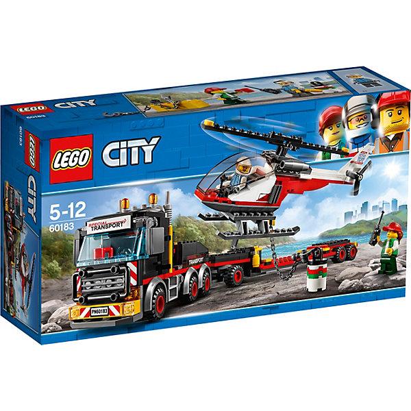 LEGO LEGO City Great Vehicles 60183: Перевозчик вертолета конструкторы lego lego city great vehicles рыболовный катер 60147