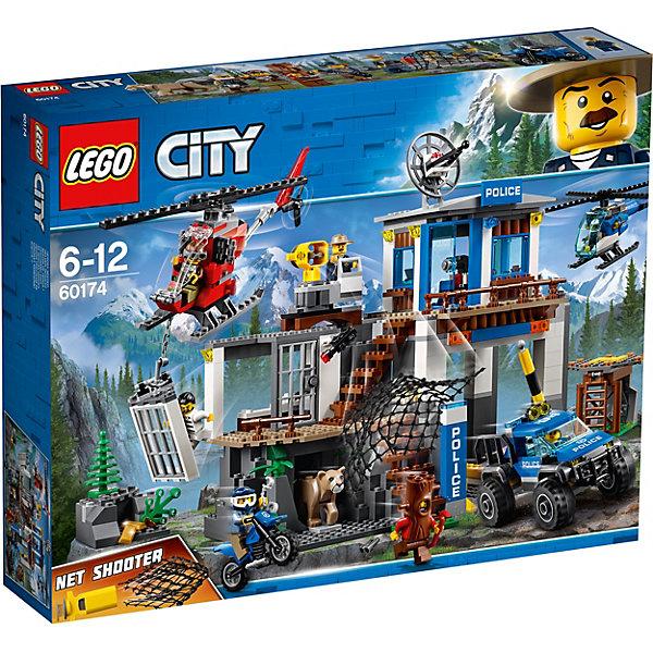 Купить Конструктор LEGO City 60174: Полицейский участок в горах, Венгрия, Мужской