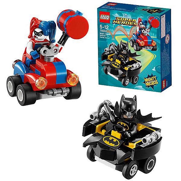 LEGO Конструктор LEGO Super Heroes 76092: Mighty Micros: Бэтмен против Харли Квин lego super heroes конструктор берегись стервятника 76083