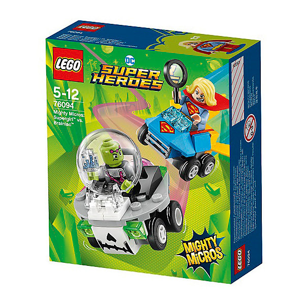 LEGO Конструктор LEGO Super Heroes 76094: Mighty Micros: Супергёрл против Брейниака цены
