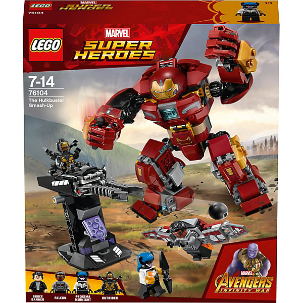 LEGO Конструктор LEGO Super Heroes76104: Бой Халкбастера single sale kf364 super heroes hell boy fixer thuderbolts captain canuck marvel melter bricks building blocks children gift toys