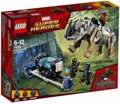 Конструктор LEGO Super Heroes 76099: Поединок с Носорогом, артикул:7221525 - Мстители