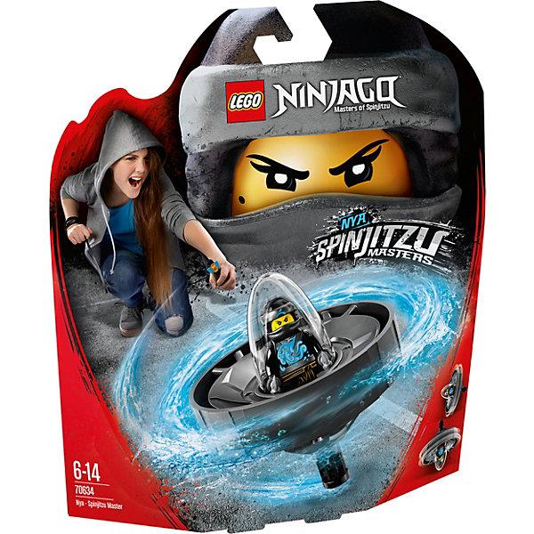 Фигурка с пусковым устройством LEGO Ninjago 70634: Ния — Мастер КружитцуLEGO NINJAGO<br>Характеристики товара:<br><br>• возраст: от 6 лет;<br>• серия LEGO: Ninjago;<br>• материал: пластик;<br>• количество деталей: 69 шт.;<br>• количество минифигурок: 1;<br>• в наборе: спиннер, копье на подставке, стержень;<br>• размер спиннера: 14х8х3 см;<br>• размер упаковки: 25х22х6 см;<br>• вес упаковки: 165 гр.;<br>• страна бренда: Дания.<br><br>Из деталей конструктора LEGO Ninjago: «Ния — Мастер Кружитцу» получается необычная игрушка с пусковым устройством, которое удобно брать с собой и устраивать игры с друзьями.<br><br>Фигурка помещается в отсек для полета, ребенок берется за рукоять и стержень, и начинается игра. Играть фигуркой можно и на земле, а главным оружием Нии будет копье.<br><br>Особенности и функционал:<br><br>• для запуска спиннера нужно вставить стержень в специальное отверстие и резко потянуть его, таким образом капсула с фигуркой отсоединится от рукояти и полетит вперед;<br>• подходит для использования с другими наборами серии LEGO Ninjago.<br><br>Фигурку с пусковым устройством LEGO Ninjago 70634: «Ния — Мастер Кружитцу» можно купить в нашем интернет-магазине.<br>Ширина мм: 258; Глубина мм: 226; Высота мм: 65; Вес г: 162; Возраст от месяцев: 72; Возраст до месяцев: 168; Пол: Мужской; Возраст: Детский; SKU: 7221540;