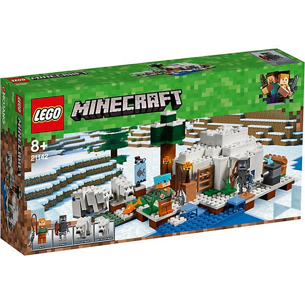 Конструктор LEGO Minecraft 21142: Иглу 7221560