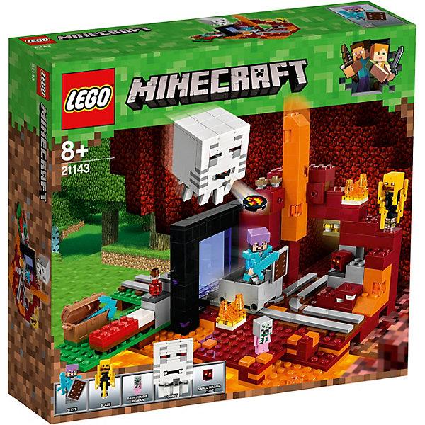 Конструктор LEGO Minecraft 21143: Портал в Подземелье 7221561