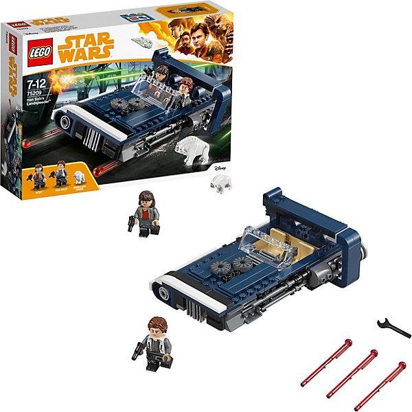 LEGO Конструктор LEGO Star Wars 75209: Спидер Хана Соло lego игрушка звездные войны флэш спидер