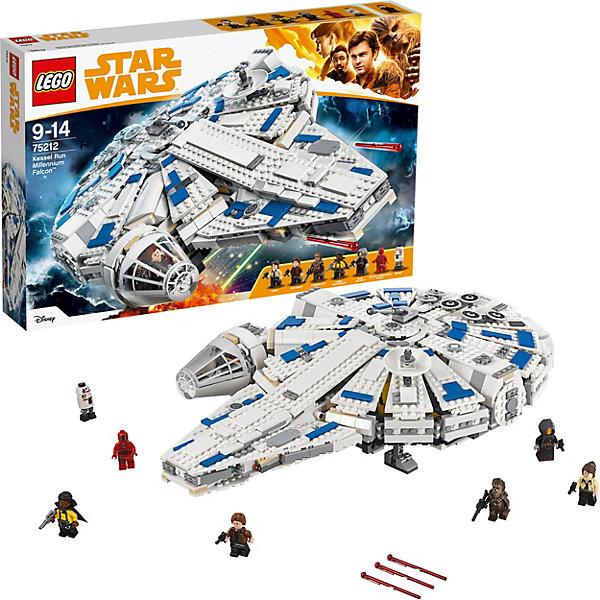 все цены на LEGO Конструктор LEGO Star Wars 75212: Сокол тысячелетия на Дуге Кесселя онлайн