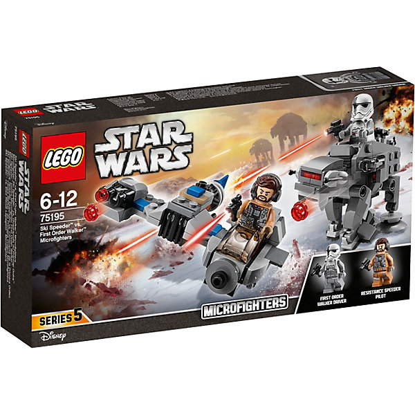 LEGO LEGO Star Wars 75195: Бой пехотинцев Первого Ордена против спидера на лыжах lego lego star wars бой пехотинцев первого ордена против спидера на лыжах