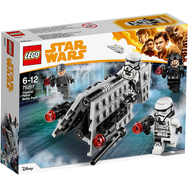 LEGO Конструктор LEGO Star Wars 75207: Боевой набор имперского патруля lego star wars 75171 битва на скарифе
