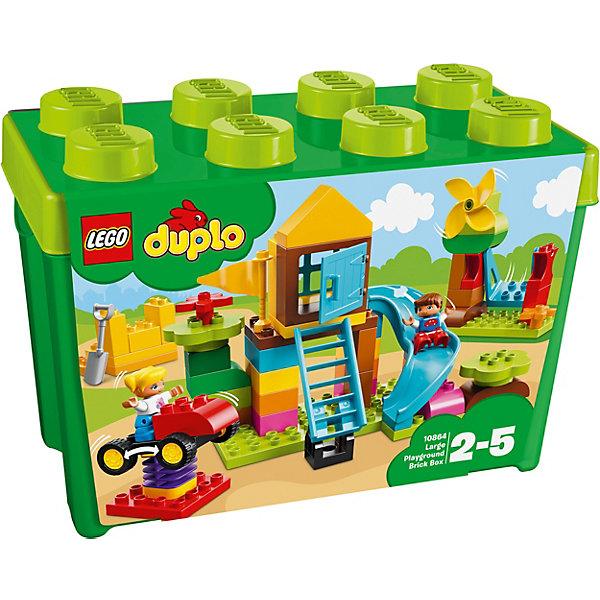 LEGO Конструктор LEGO DUPLO 10864: Большая игровая площадка вытяжка каминная gorenje classico dk63mclb черный управление тактовое 1 мотор
