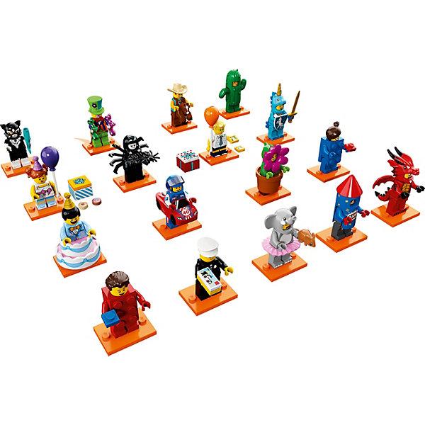 Минифигурки LEGO: Юбилейная СерияLEGO<br>Характеристики:<br>• возраст: от 3 лет;<br>• материал: пластик;<br>• в наборе: фигурка, подставка, лист коллекционера;<br>• вес упаковки: 12 гр.;<br>• размер упаковки: 9х12х1 см;<br>• страна бренда: Дания;<br>• товар в ассортименте.<br>Минифигурки LEGO из юбилейной серии посвящены 40-летию создания фигурок, поэтому тема коллекции – праздники и вечеринки. Всего в линейке 17 разных забавных фигурок, включая офицера полиции образца LEGO 1978 года.<br>В каждой упаковке содержится фигурка, один или несколько аксессуаров и подставка, а также листовка коллекционера с описанием. Выбрать определенную модель заранее невозможно. Игрушка поставляется в непрозрачной упаковке.<br>Минифигурки LEGO: «Юбилейная серия» можно купить в нашем интернет-магазине.<br>Ширина мм: 110; Глубина мм: 88; Высота мм: 35; Вес г: 13; Возраст от месяцев: 60; Возраст до месяцев: 192; Пол: Унисекс; Возраст: Детский; SKU: 7221604;