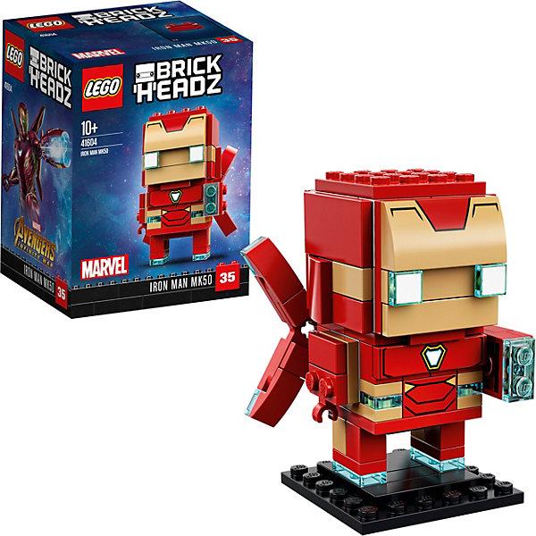 LEGO Сборная фигурка LEGO BrickHeadz 41604: Железный человек все цены