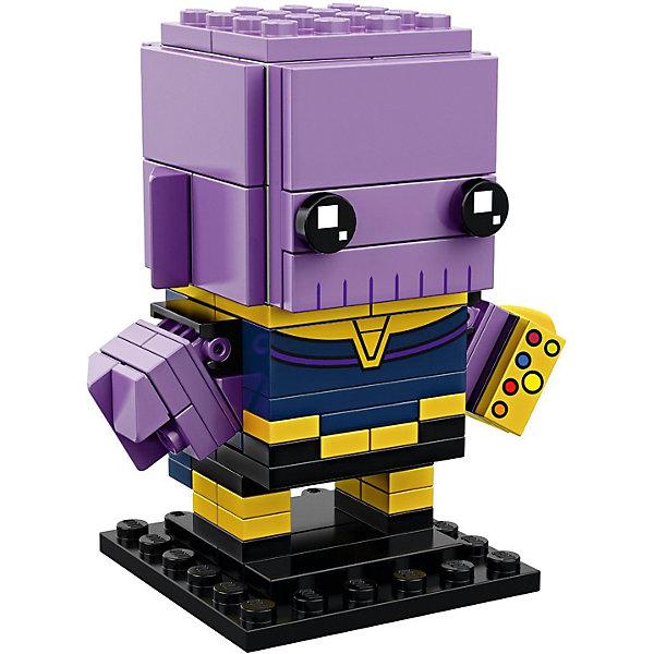 LEGO Сборная фигурка LEGO BrickHeadz 41605: Танос все цены