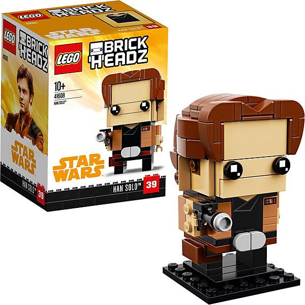 LEGO Сборная фигурка LEGO BrickHeadz 41608: Хан Соло все цены