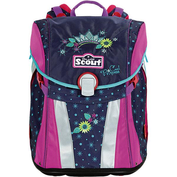 Scout Ранец Scout Sunny Супер-принцесса с наполнением scout scout ранец sunny exklusiv с наполнением 4 предмета ежик в саду