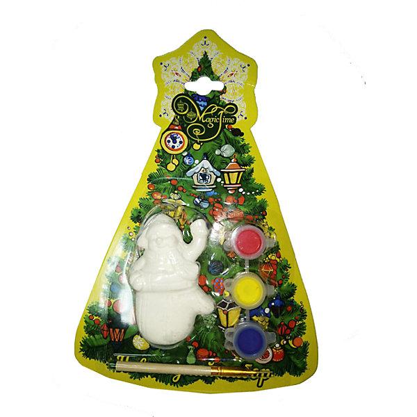 Купить Новогодний набор для росписи Magic Time Снеговик в варежке , Китай, Унисекс