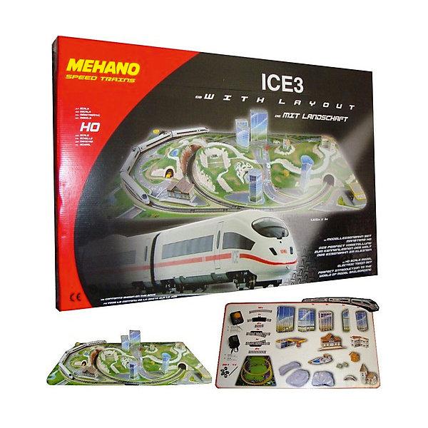 Mehano Железная дорога Mehano ICE 3. Сапсан с ландшафтом mehano железная дорога ice3 с ландшафтом