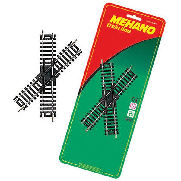 Mehano Перекресток для железной дороги Mehano, 45˚ игрушка mehano 2 f102 набор рельс