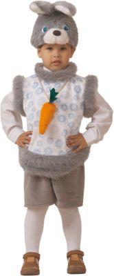 Карнавальный костюм  Кролик Кроха  Батик для мальчика, артикул:7224436 - Детские карнавальные костюмы и аксессуары