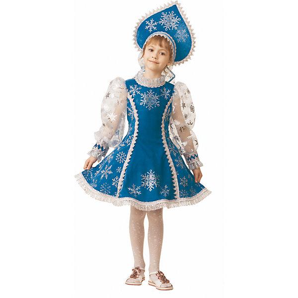 Купить Карнавальный костюм Снегурочка Jeanees для девочки, Россия, 110, 122, 116, Женский