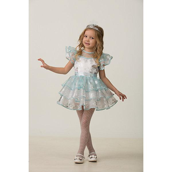 цена на Jeanees Карнавальный костюм Снежинка Снежана Jeanees для девочки