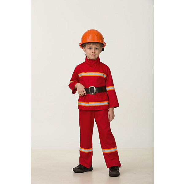 Jeanees Карнавальный костюм Jeanees Пожарный карнавальный костюм jeanees цыплёнок пончик цвет желтый размер 28